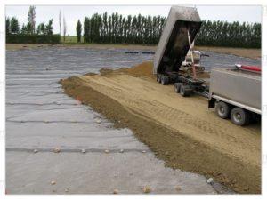 геотекстиль строительство дорог