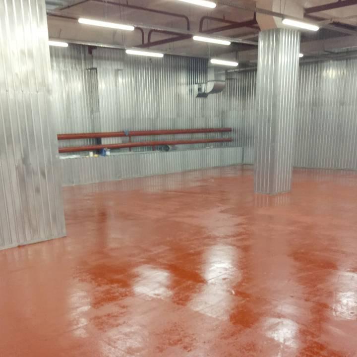 Фармацевтическая компания Вента ЛТД. Покраска 2500м2,Монтаж профлиста 1500м2,электромонтажные работы.