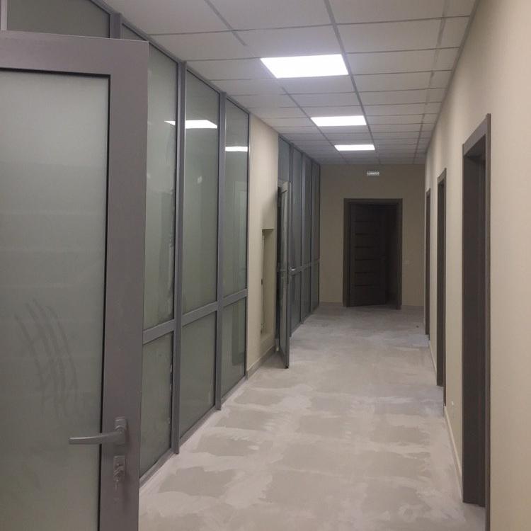 Ремонт офиса под ключ ДТЭК. Площадь по полу 600м2
